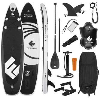 Accesorios incluidos en una tabla de paddle surf