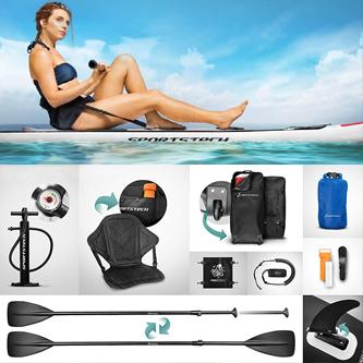 Accesorios incluidos en las tablas de paddle surf