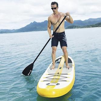 Anchura de la tabla de paddle surf