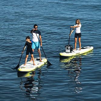 Capacidad de carga tabla paddle surf