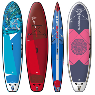 Diseño tablas paddle surf starboard