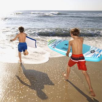 Funcionalidades tablas paddle surf infantiles