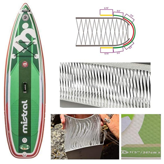 Materiales tablas de paddle surf