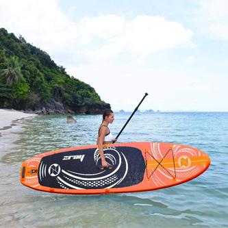 Tabla Paddle Surf en la playa
